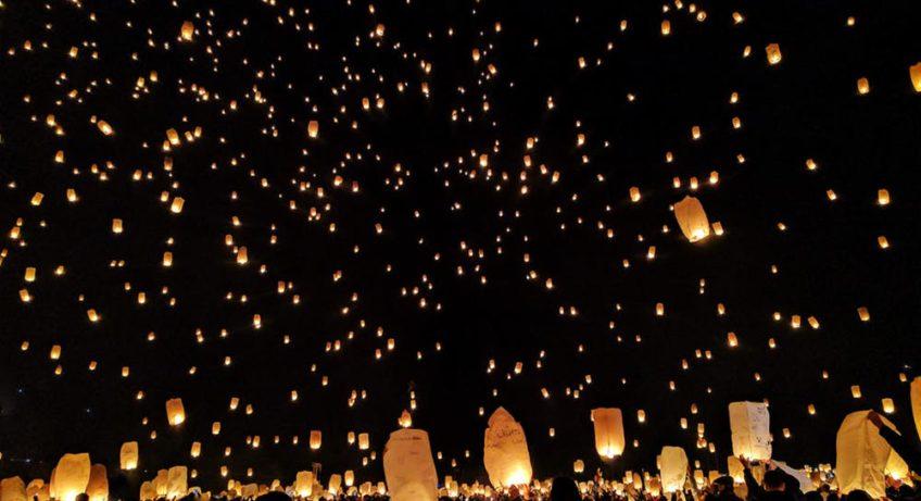החיים לפי שירלי - חג האורות בתאילנד - יי פנג ולוי קטונג
